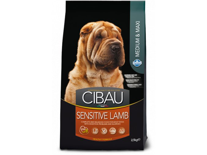 cibau sensitive lamb medium maxi@web