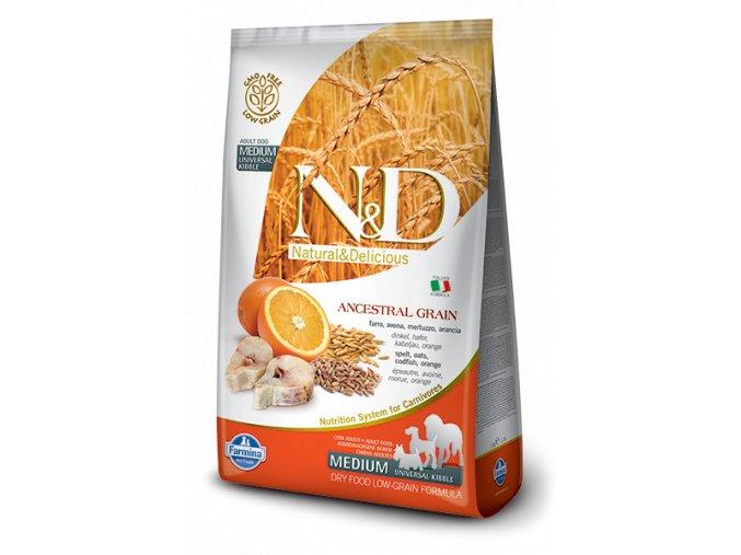 ND Low Ancestral Grain canine Adult Medium CODFISH@web