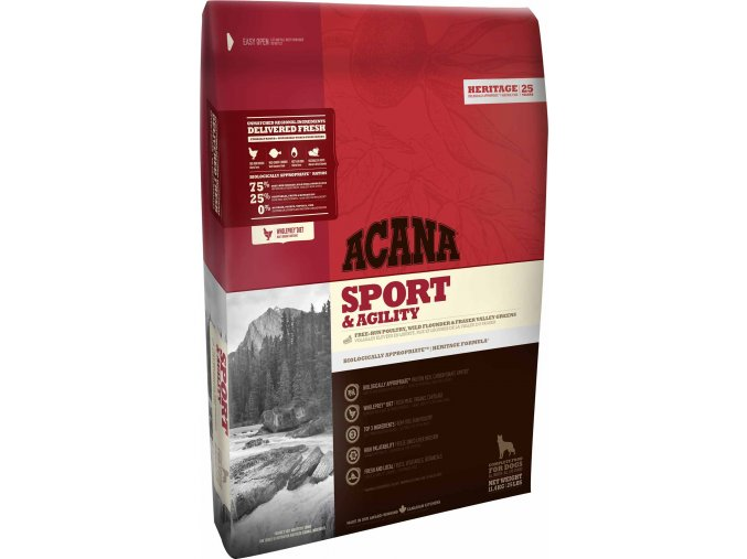 Acana dog sport and agility 1800