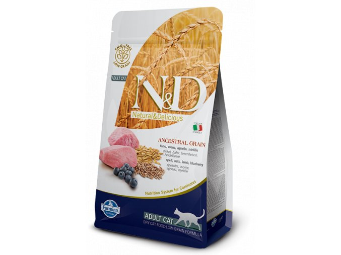 ND Low Ancestral Grain feline Adult LAMB@web