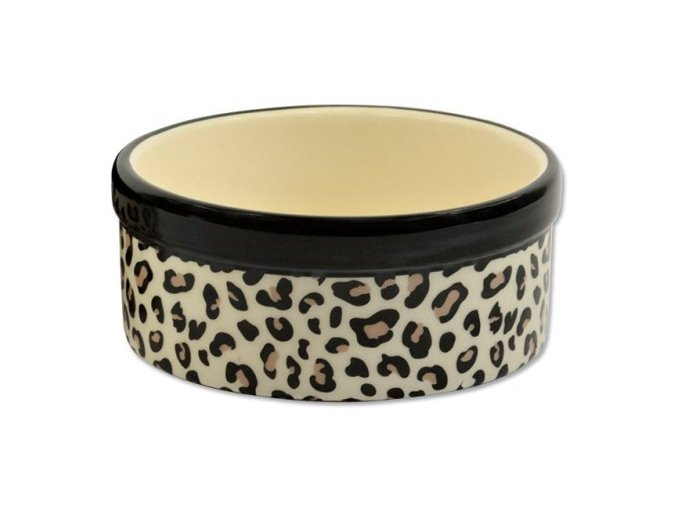 DOG FANTASY keramická miska jaguár 13,5 x 5,5 cm (180 ml)