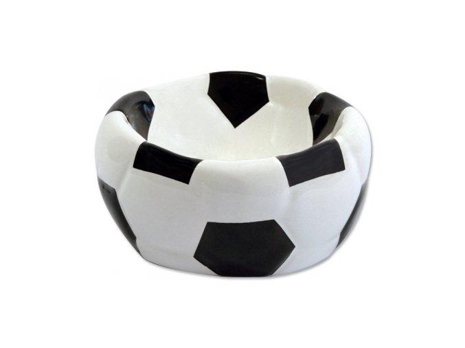DOG FANTASY keramická miska fotbalová lopta 15 x 8 cm