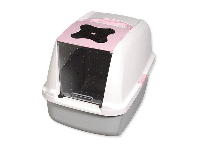 CATIT toaleta Design ružová 56 cm