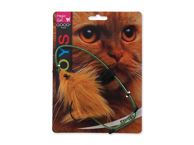 Hračka MAGIC CAT myška závesná na dvere plyšová mix