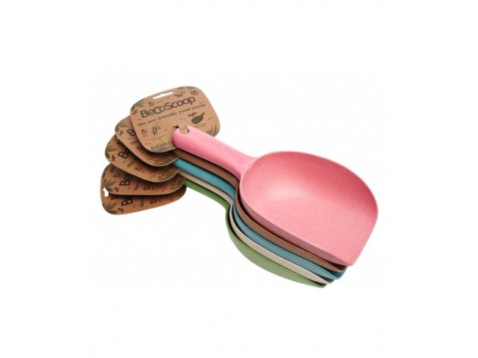 five food scoops stacked 3