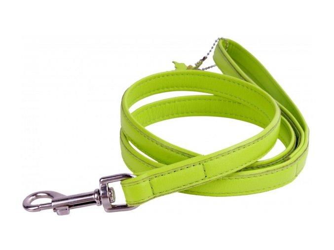 99(1) ploche kozene voditko zelenej farby 122cm