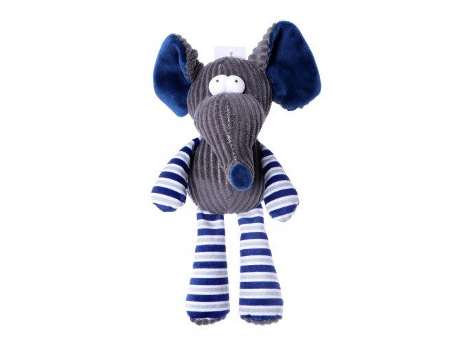 2273 plysova piskacia hracka pre psa slon