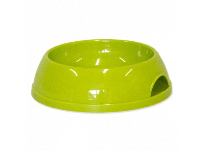0205921 miska magic cat plastova zelena 15 cm 200ml 635