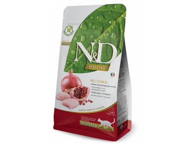 farmina nd prime neutered chicken pomegranate