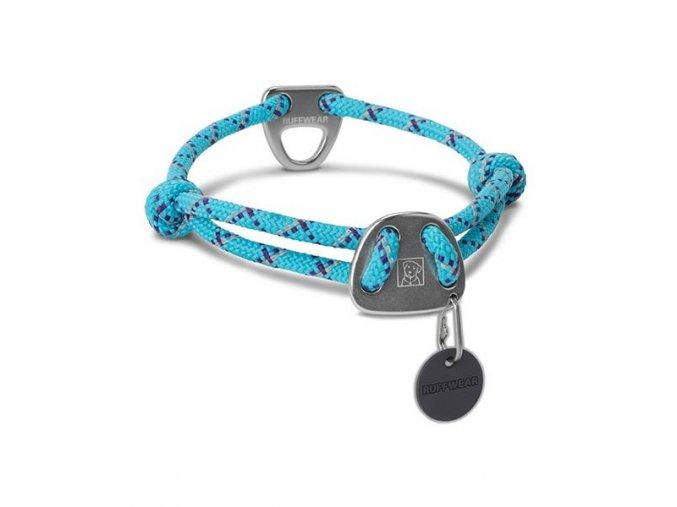 obojok pre psa knot a collar blueatoll print 2