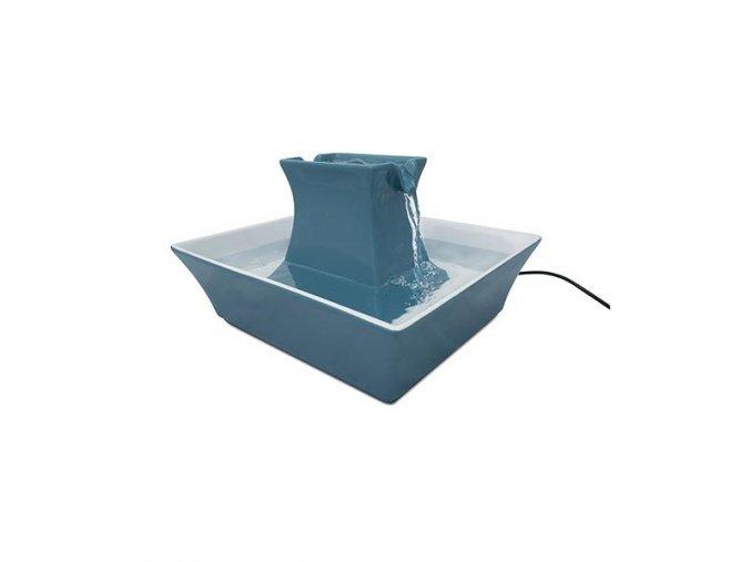 fontanka pre macky a psy pagoda modra