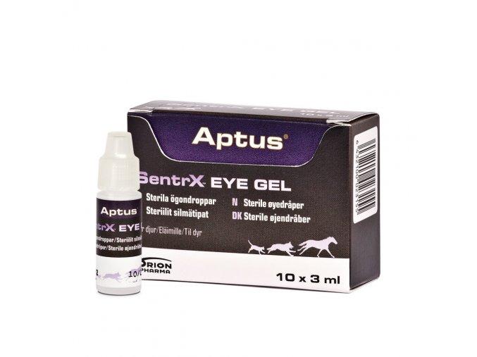 SentrX EyeGel 10x3ml bottle package 1000x1000