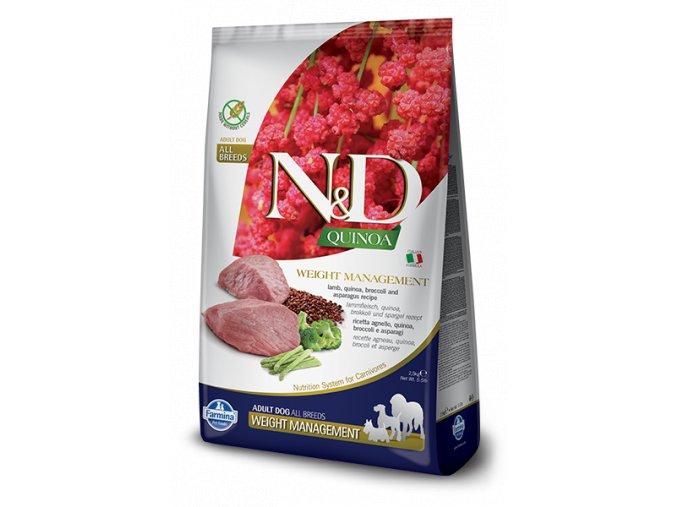 444 50 nd quinoa adult weight management [400x600pxl]@img farmina site