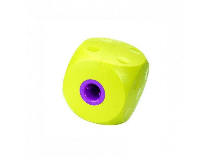 hracka buster interaktivna kocka pre psa nad 10 kg limetkovo zelena