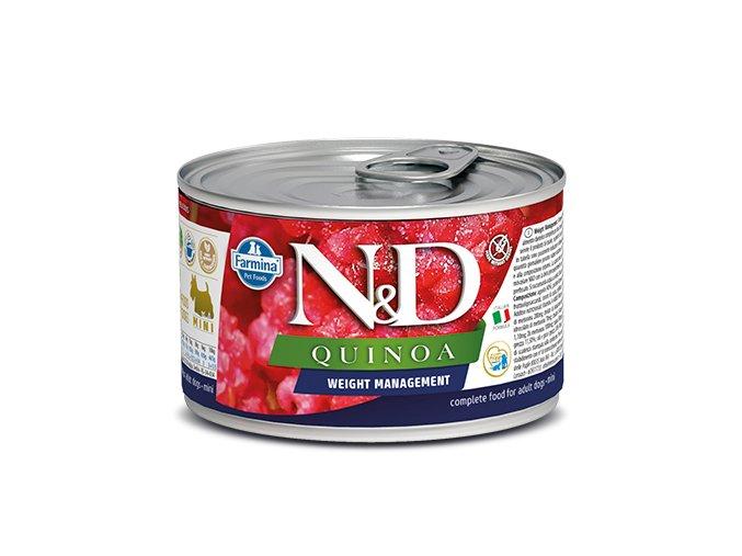 540 51 nd quinoa canine 140g weight management