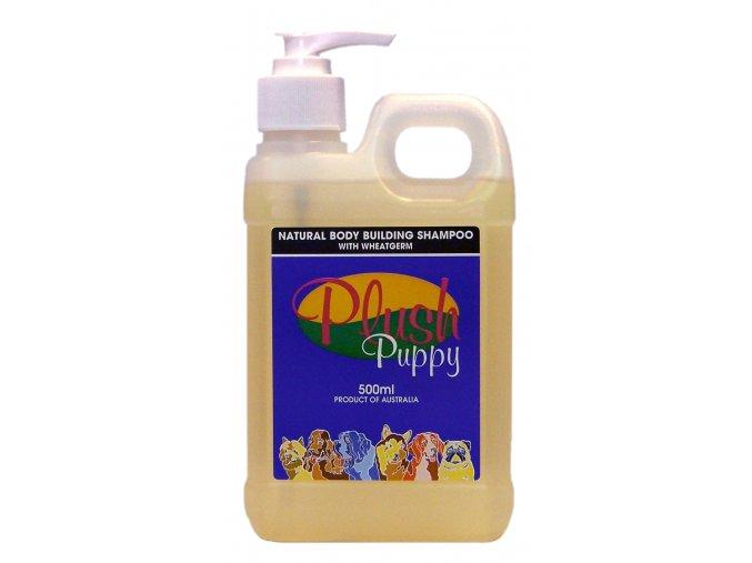 378 prirodny sampon natural body building shampoo 500ml