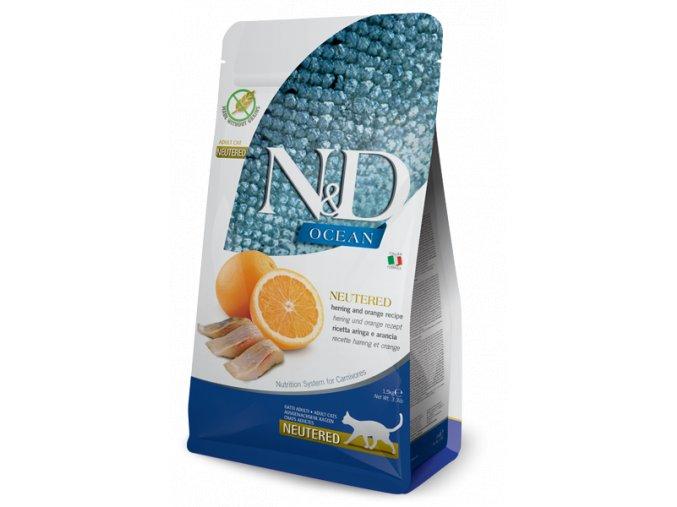 farmina nd ocean neutered herring orange