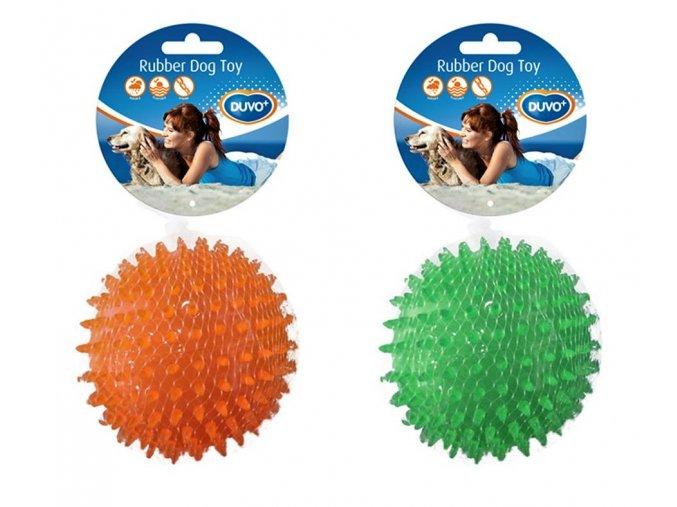 hračka duvo pre psa lopta ježko gumená 8 cm