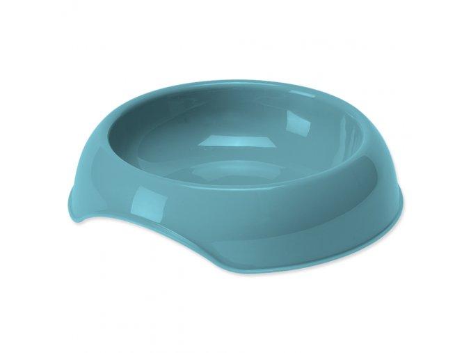 DOG FANTASY Miska pre psov plastová modrá 350 ml