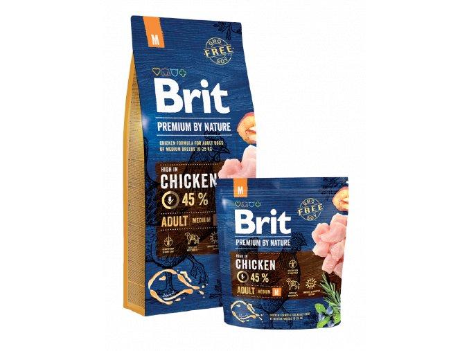 brit premium nature adult m