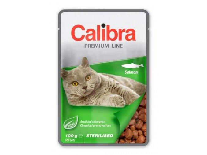 calibra cat sterilised salmon