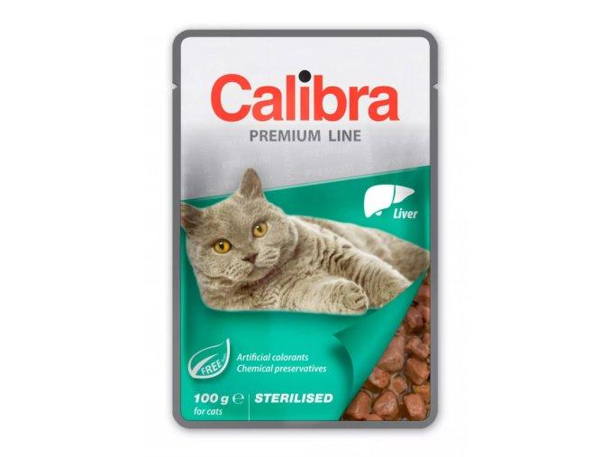calibra cat sterilised liver