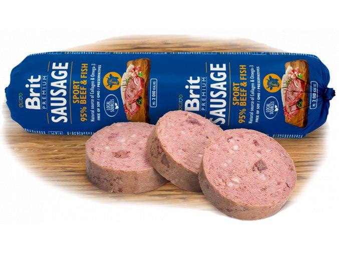 salama brit premium sausage sport beef fish
