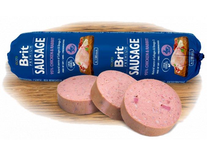 salama brit premium sausage chicken rabbit