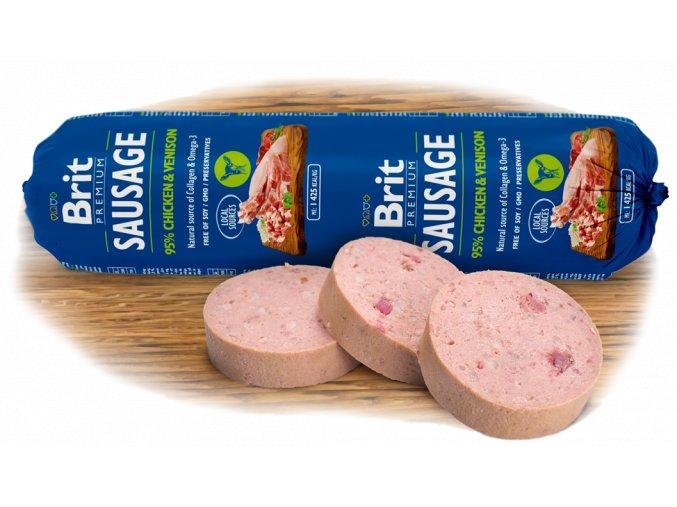 salama brit premium sausage chicken venison