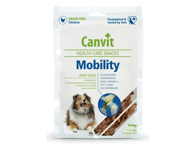 Canvit health care snacks mobility