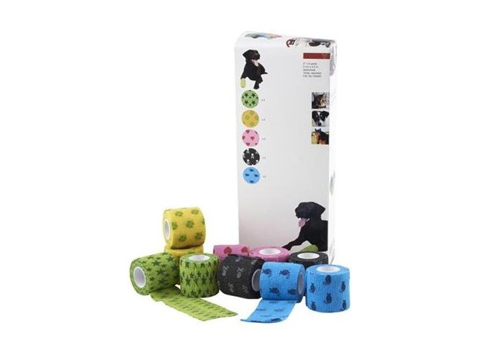 Bandaz KRUUSE Fun Flex Pet 5cm x 4,5m 10ks