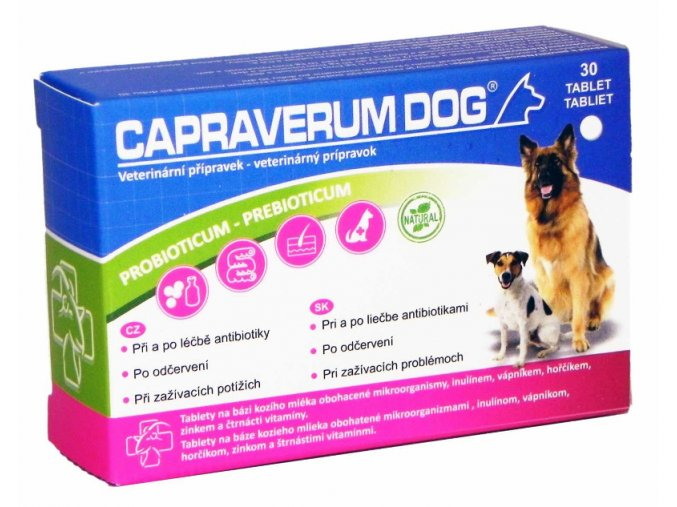 Capraverum dog prebioticum probioticum