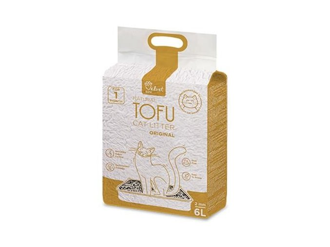 podstielka tofu original 6l