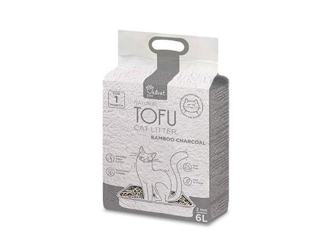 podstielka tofu s bambusovym uhlim