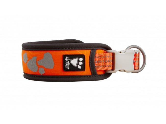 hurtta weekend warrior collar neon orange 4