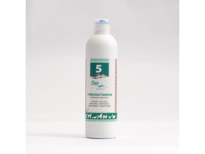 Vybielovací šampón pre psy a mačky č. 5 BEA natur 250 ml