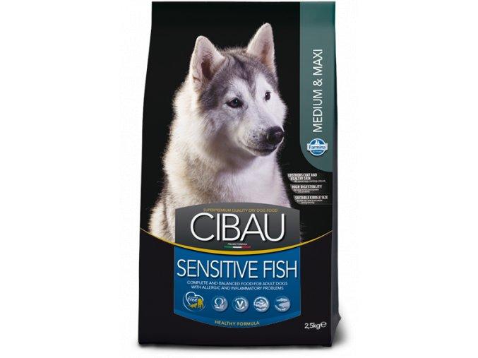 cibau sensitive fish medium maxi@web