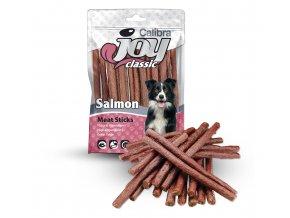 Salmon meat stick