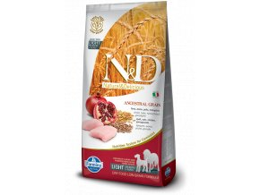 ND Low Ancestral Grain canine Adult LIGHT Medium Maxi CHICKEN@web