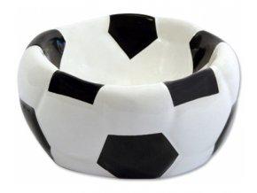 Miska DF keramická fotbalová lopta 15x8 cm