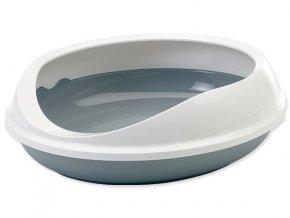 Toaleta SAVIC Figaro šedo-biela 55 cm