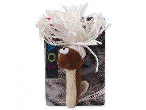 Hračka MAGIC CAT červík bavlněný plyšový 13,75 cm