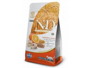ND Low Ancestral Grain feline Adult CODFISH@web