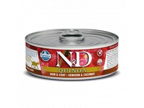 503 41 nd quinoa feline 80g skin venison