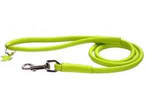 105 okruhle kozene voditko zelenej farby 122cm