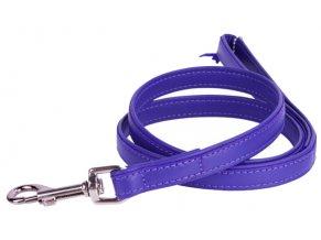 101(1) ploche kozene voditko fialovej farby 122cm
