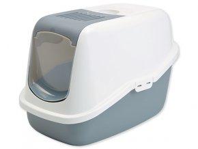 Toaleta SAVIC Nestor bielo-šedá 56 cm