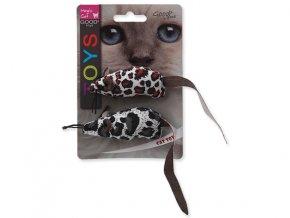 Hračka MAGIC CAT myška látková s catnipom 17,5 cm