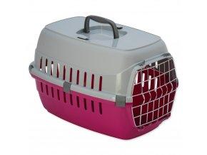 DOG FANTASY Prepravka Carrier ružová 48,5 cm