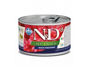 540 51 nd quinoa canine 140g weight management